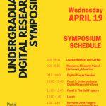 Undergraduate digital research symposium