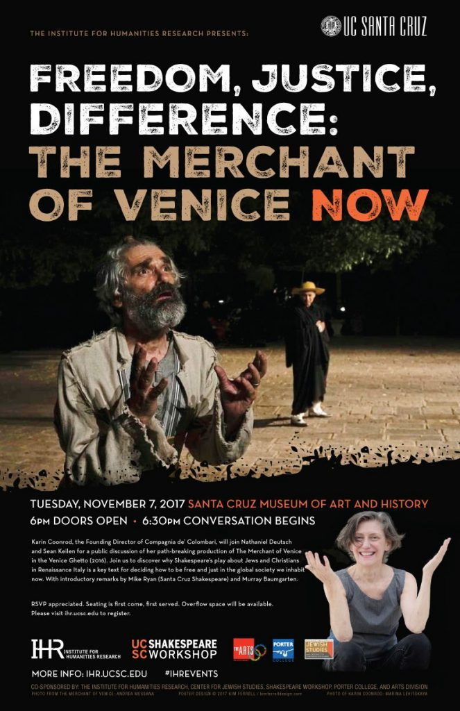 Freedom, Justice, Difference: The Merchant of Venice Now