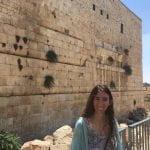 Shana Pava at the Western Wall