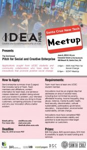 IDEA Hub Pitch Flier