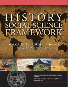 Image of the cover of the History-Social Science Framework