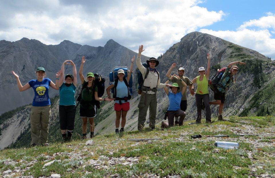 Wildlands Studies class in the Bob Marshall Wilderness