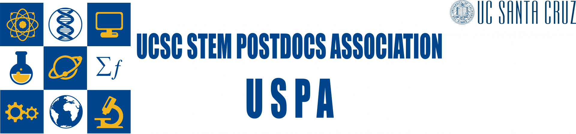 UCSC STEM Postdocs Association (USPA) Logo