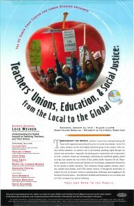 Teachers' Unions, Education & Social Justice