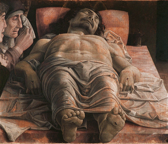 Andrea Mantegna:   the Dead Christ