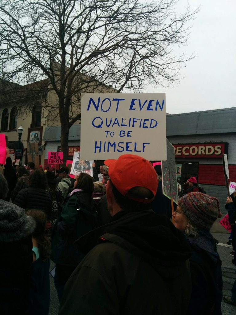Not even qualified to be himself