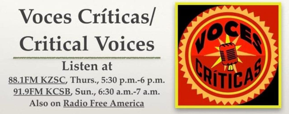 Voces Críticas/Critical Voices