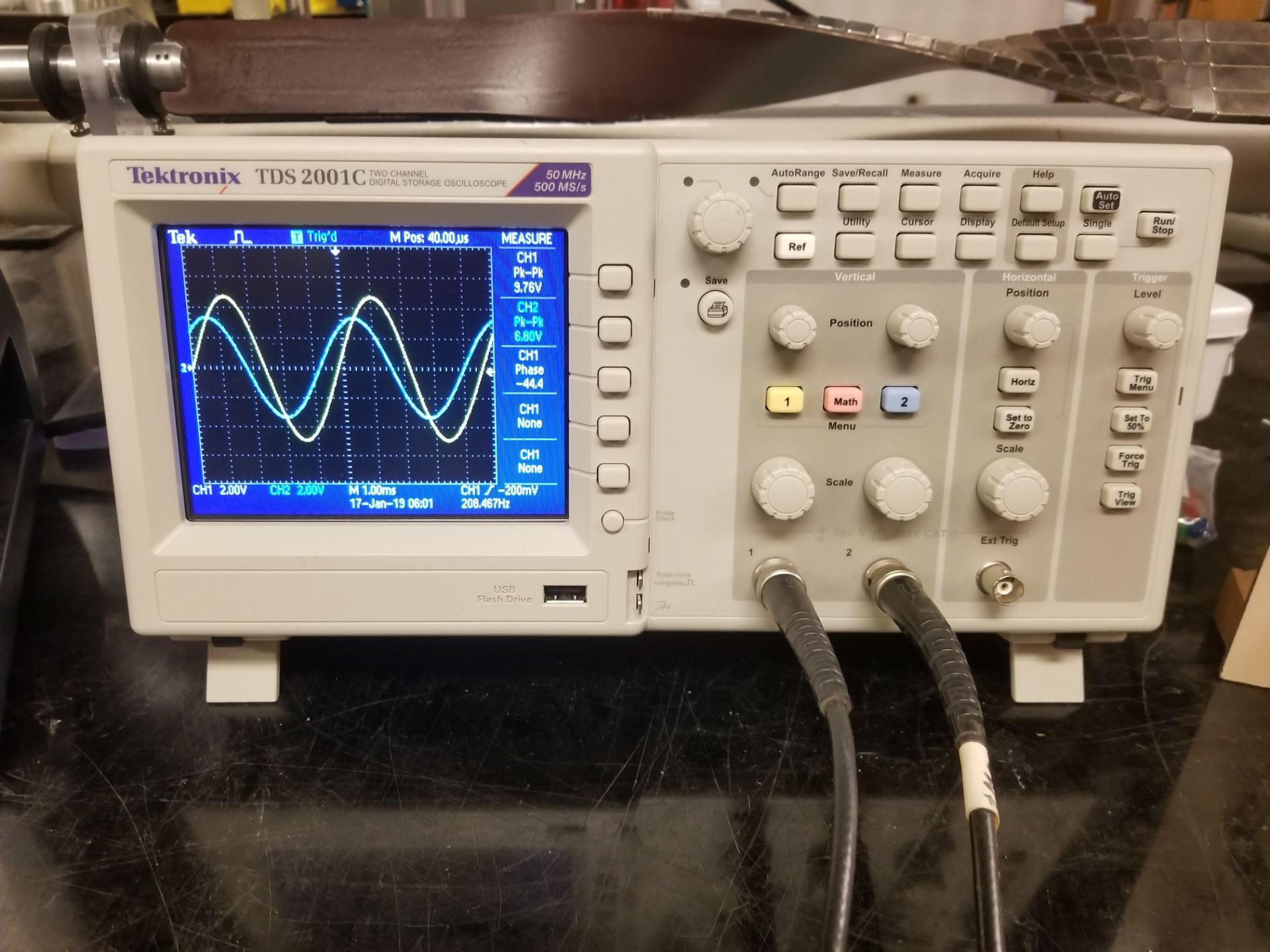 Should See On The Oscilloscope When You Measure The Real Rc Circuit