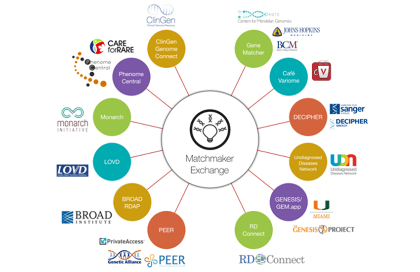 The Matchmaker Exchange: A Platform for Rare Disease Discovery.