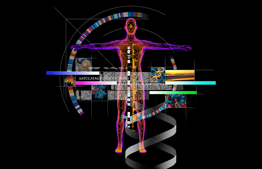 Genome Man illustration
