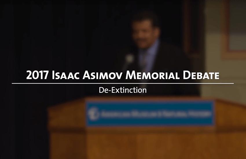 2017 Isaac Asimov Memorial Debate Title Screen