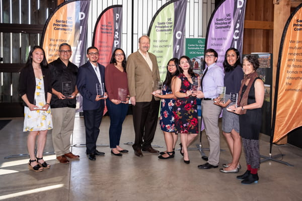 Chancellor's awards recognize achievement in diversity, inclusion