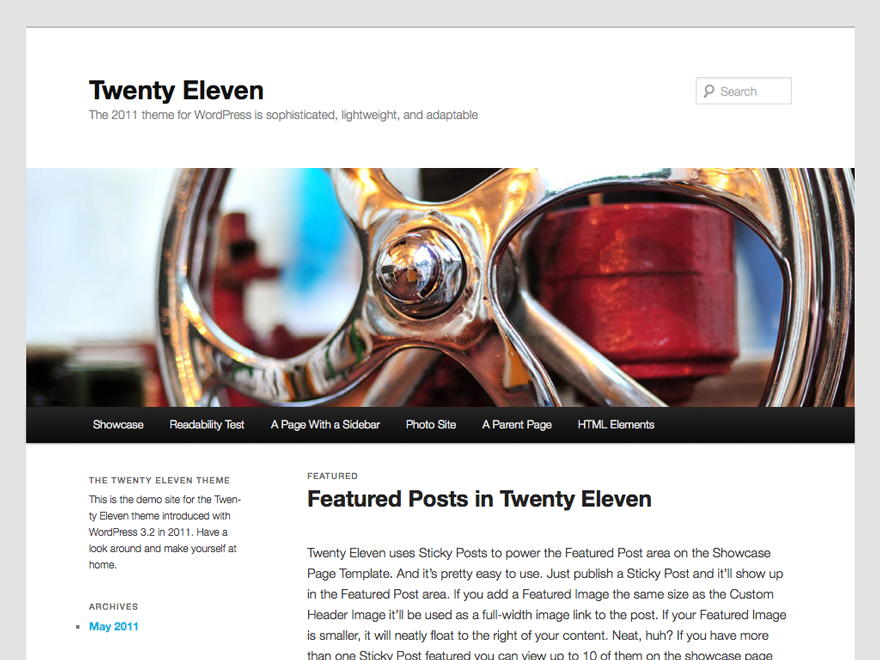 twenty-eleven screenshot