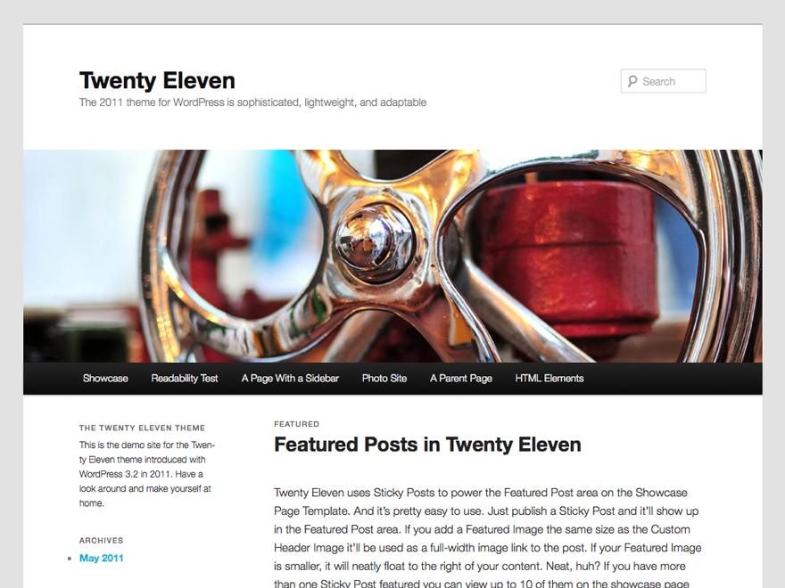 twenty-eleven screenshot