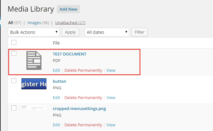 screenshot document in ML