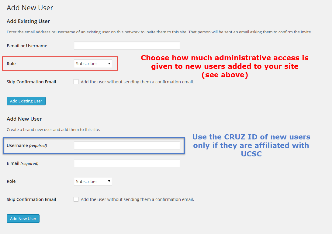 adding users screenshot