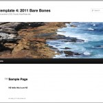 2011 Bare Bones, Out of the Box Template