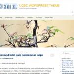 UCSC branding, fonts, colors using 2011 theme
