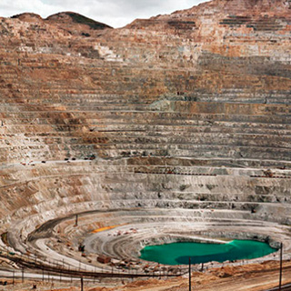 Kennecott Copper Mine, Photo by Edward Burtynsky