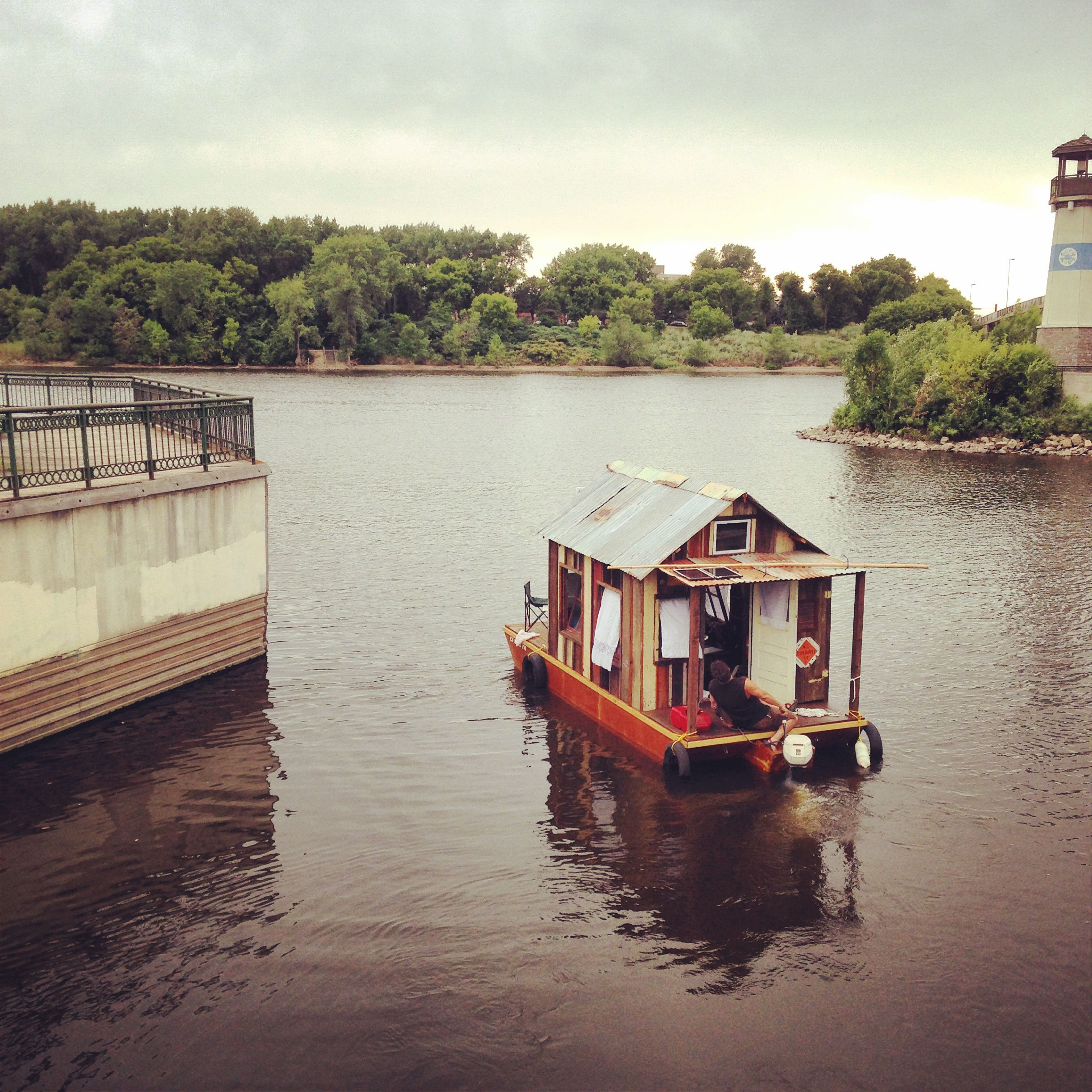 Wes Modes - Secret History - Shantyboat in Mpls