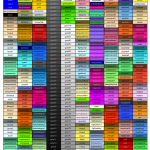 R colors by names