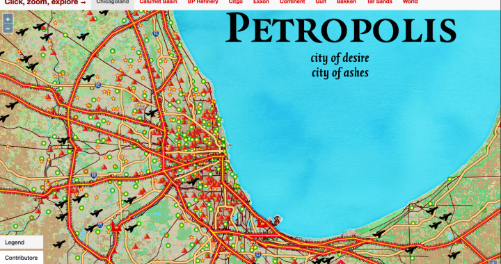 Map of Petropliis, City of Desire, city of Ashes