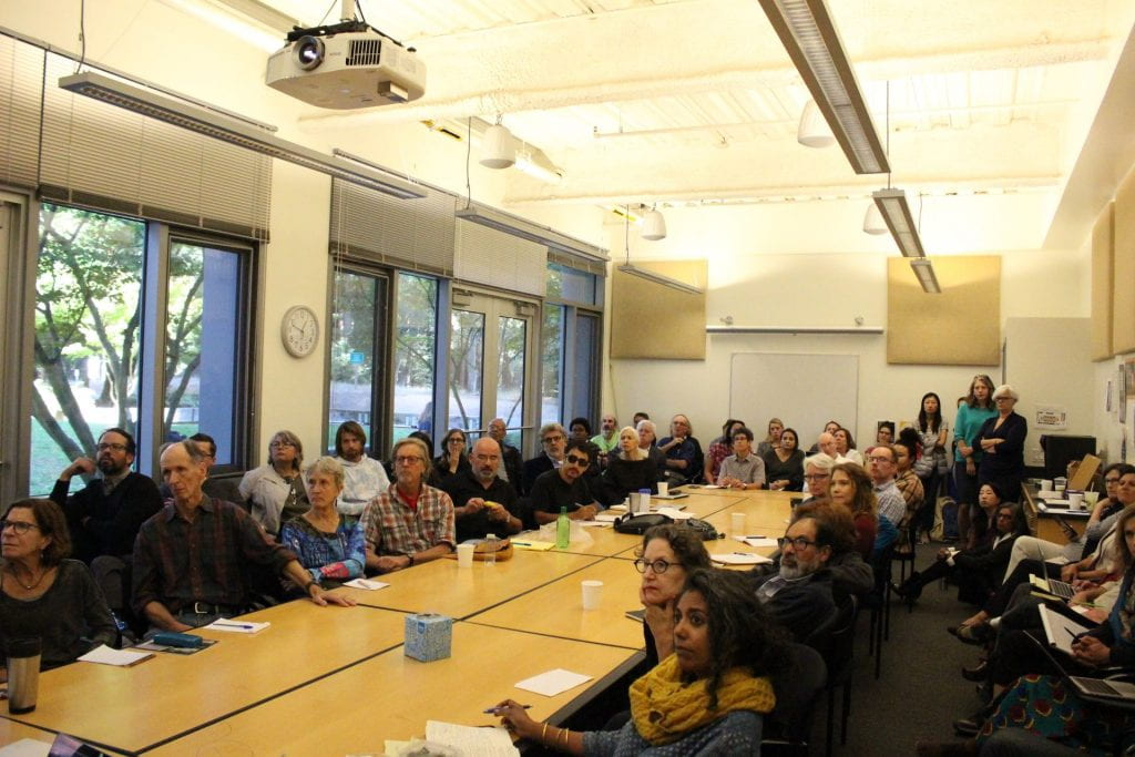 Cultural Studies Colloquium audience