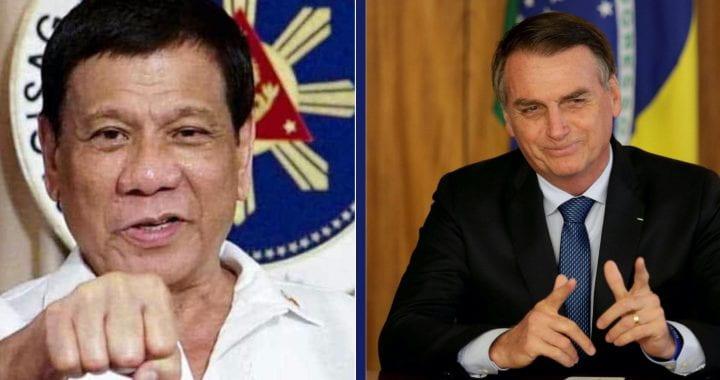 Photo of Duterte and Bolsonaro