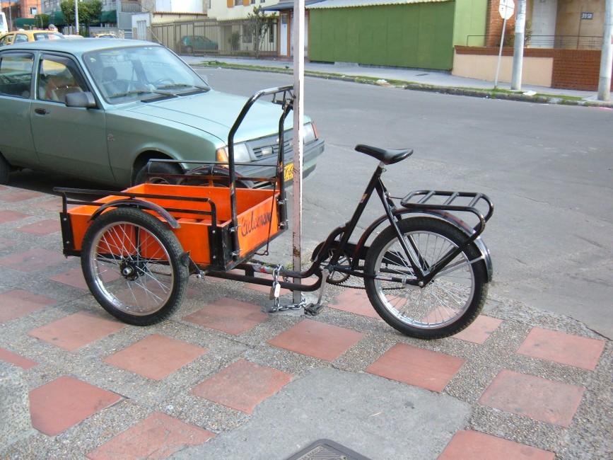 Cargo bike in Bogota
