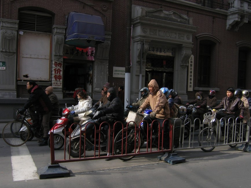 Commuting in Shanghai