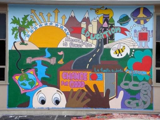 Photo of Art4Change Mural One