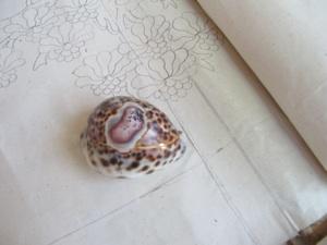 polishing fabric with shell