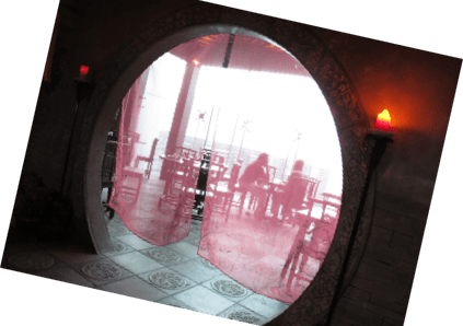 entrance arch