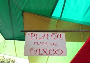 Tianguis market sign