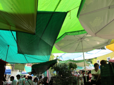 Tianguis open-air market