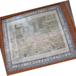 map of city in tiles