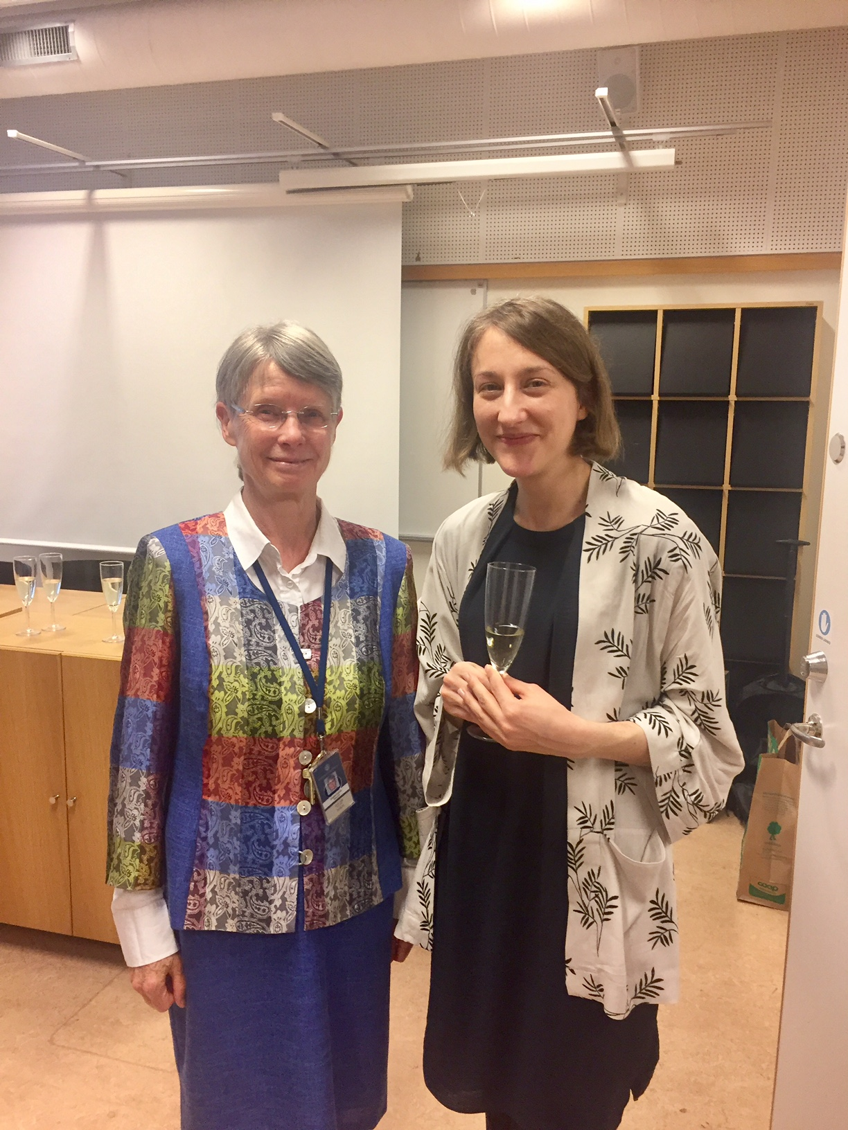 Filippa Lindahl and Elisabeth Engdahl