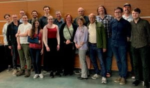 A group photo of some of the workshop participants.