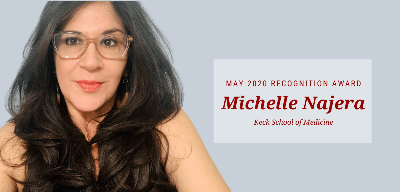 Michelle Najera May Recipient