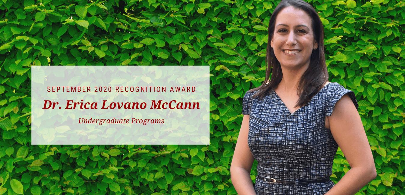 Dr. Erika Lovano McCann