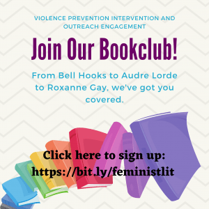 RSVP Book club flyer