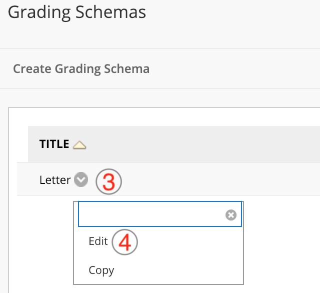 Grade Number To Letter.Changing The Default Letter Grading Schema Blackboard Help
