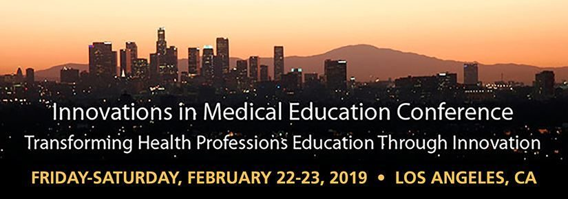 Innovations in Medical Education Conference 2019