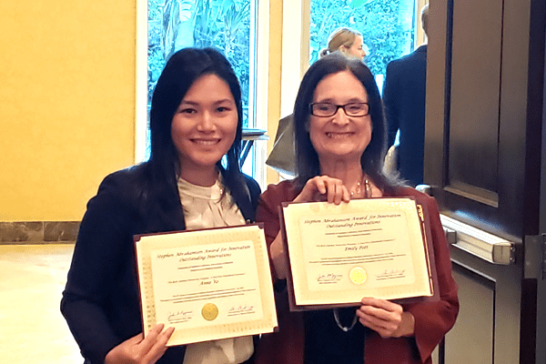 Dr. Anne Vo and Dr. Julie Nyquist,