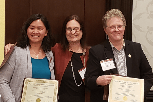 Dr. Jamie Yu, Dr. Julie Nyquist, and Dr. Carol S. Hodgson