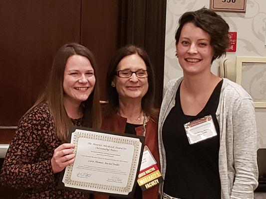 Ms. Cara Thomas, Dr. Julie Nyquist, Ms. Rachel Deller