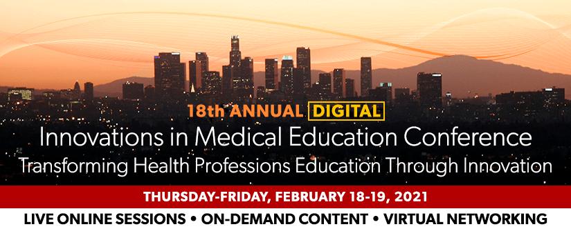 2021 IME Digital Conference Website Header