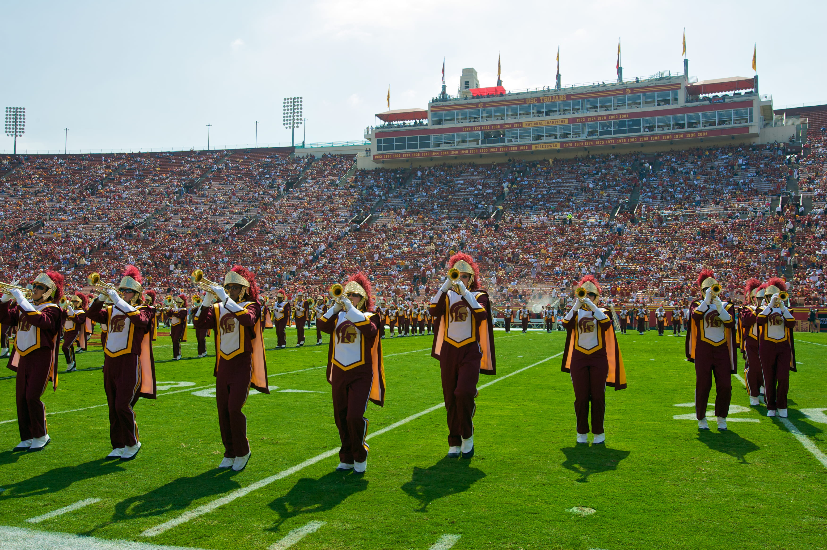 building a college application resume trojan marching band