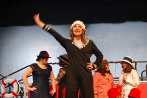 High School me in Anything Goes