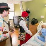Medical Clowns visit Cancer Center.
